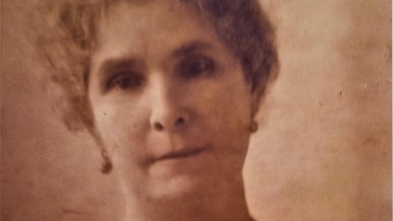 Dona Maria Augusta, esposa de Ruy Barbosa