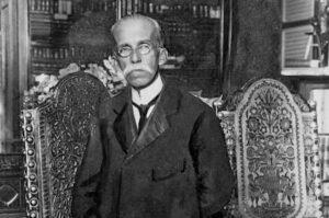 Ruy Barbosa em sua biblioteca: patrono do Senado também atuou como jurista, diplomata e jornalista Arquivo Nacional Fonte: Agência Senado