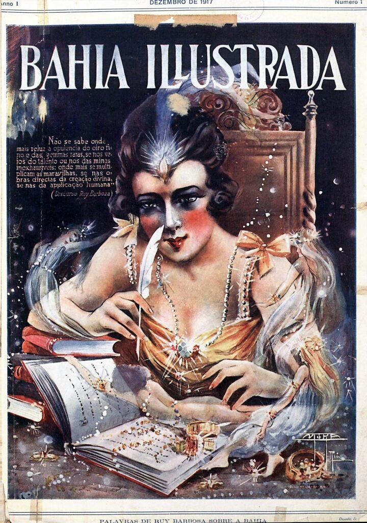 capa da 1ª edição da Bahia Ilustrada